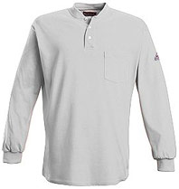 FIREWEAR� Flame Resistant Long Sleeve Henley Shirt