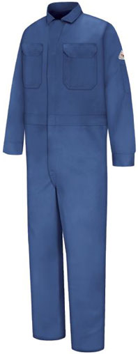Bulwark Flame Resistant Deluxe Contractor Coverall