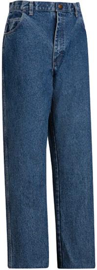 Bulwark Flame Resistant Stone Washed Loose Fit 14.75 oz Denim Jean