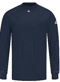 Bulwark Flame Resistant Knit Long Sleeve T-Shirt