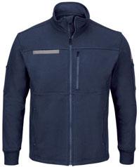 Bulwark Zip Front Fleece Jacket