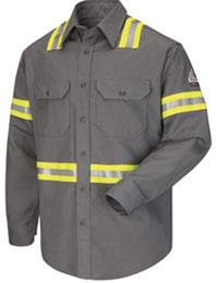 Bulwark Flame Resistant Enhanced Visibility Uniform Shirt