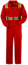 Bulwark Flame Resistant Deluxe Coverall w/ Reflective Trim