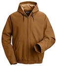 Bulwark Flame Resistant ComforTouch™ Brown Duck Hooded Jacket