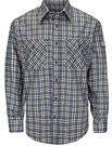 Bulwark Flame Resistant ComforTouch Plaid Uniform Shirt