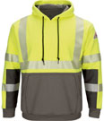 Bulwark iQ SERIES Hi-Visibility Color Block Sweatshirt